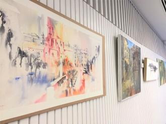 Exposició de pintures i fotos de la Festa Major de Solsona a la Biblioteca Carles Morató
