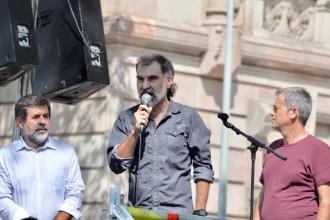 Vés a: VÍDEO El contundent discurs de Jordi Cuixart: «Estem aturant un cop d'estat»