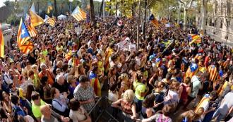 El sobiranisme manté la mobilització: «Estem aturant un cop d'estat»