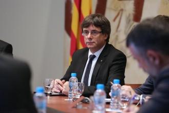 Vés a: Puigdemont adverteix Rajoy: «L'1 d'octubre es farà el referèndum que tenim convocat»