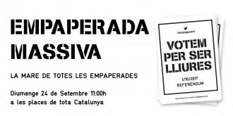 Vés a: Convoquen «la mare de totes les empaperades» aquest diumenge a Barcelona