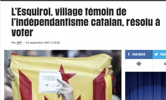 Vés a: «Libération» i «Clarín» situen a l'Esquirol, a Osona, els seus reportatges sobre el procés