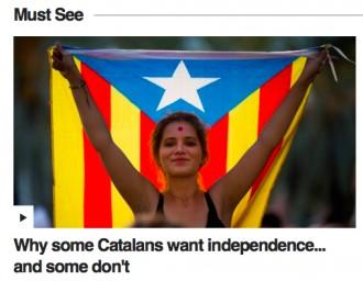 Vés a: El vídeo més vist de la BBC explica el procés independentista