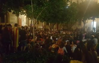 Vés a: Uns 300 estudiants passen la primera nit a la Universitat de Barcelona