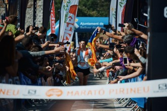 Vés a: Kilian Jornet fa miques el rècord de la Marató de l'Ultra Pirineu