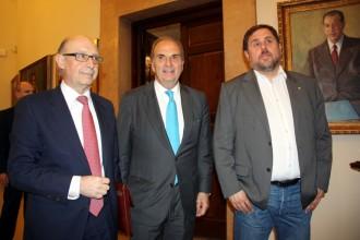 Vés a: El president de Foment creu que la intervenció de les finances catalanes «era necessària»