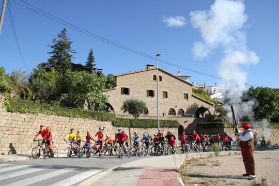 La XXXVIII Pujada Ciclista al Pi de la Torregassa reuneix uns 70 participants