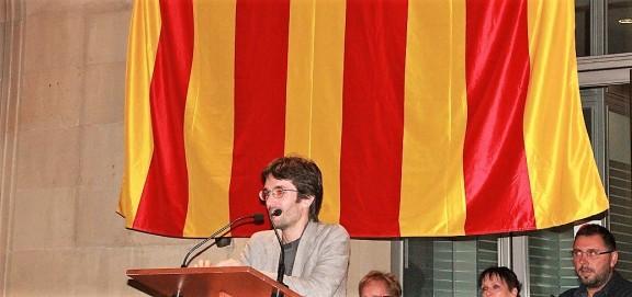 L'escriptor solsoní Raül Garrigasait encoratja a participar al referèndum de l'1-O