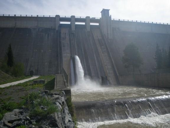 Vés a: L'ACA construeix una nova captació d'aigua de la presa de Siurana, al Priorat