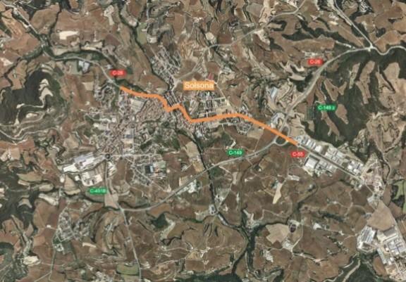 Territori i Sostenibilitat licita les obres de millora de la travessera urbana de Solsona