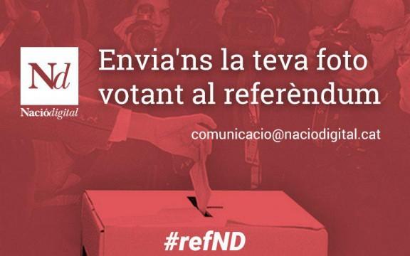 Envia'ns la teva fotografia votant al referèndum