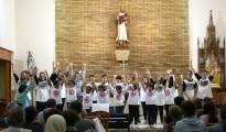 Els petits cantors de St. Miquel i les Escodines canten al cicle del convent