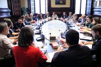 Vés a: La junta de portaveus reclamarà dilluns la llibertat dels «presos polítics» Sànchez i Cuixart