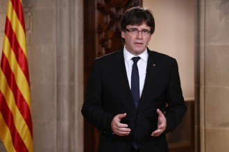 Vés a: VÍDEO en DIRECTE Compareixença de Puigdemont després de l'aprovació del 155