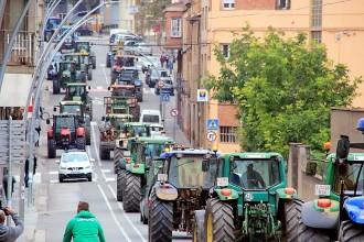 La pagesia es va sumar a l'aturada de país