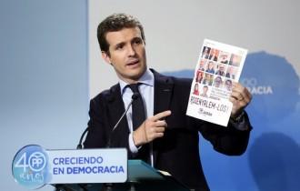 Vés a: Pablo Casado, un cadell d'Aznar en dificultats