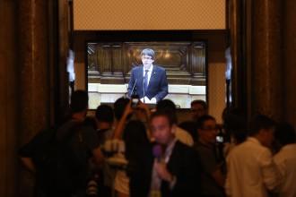 Vés a: La Fiscalia ultima una querella contra Puigdemont per rebel·lió