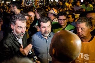 Vés a: «Llibertat Jordi Sànchez i Jordi Cuixart»: gran manifestació dissabte al passeig de Gràcia