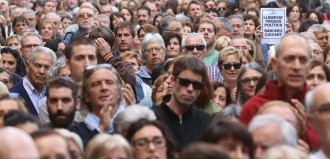 Vés a: Concentracions de protesta arreu de Catalunya per l'empresonament de Sànchez i Cuixart