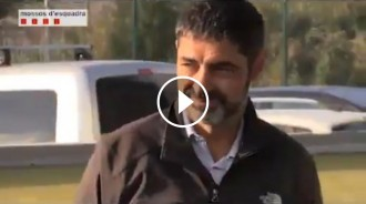 Vés a: VÍDEO El discurs de Trapero després de tornar de Madrid