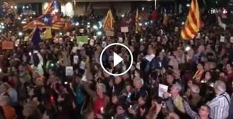 Vés a: VÍDEO «L'Estaca» ressona a Girona en defensa de la llibertat de Cuixart i Sànchez