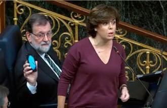 Vés a: Sáenz de Santamaría: «Si Puigdemont no contesta en 24 hores aplicarem el 155»