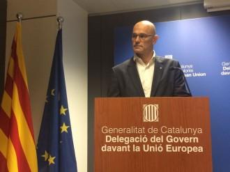 Vés a: Romeva demana a Europa que s'impliqui en la resolució del conflicte entre Catalunya i l'Estat