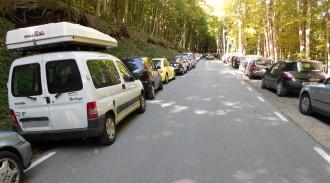 Vés a: Suspesa per les fortes pluges la prova pilot per regular l'accés al Parc natural del Montseny