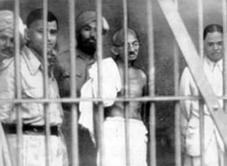 Vés a: Sabíeu que Gandhi va ser detingut i empresonat per sedició?