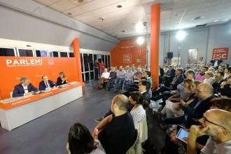 Vés a: L'empresonament de Sànchez i Cuixart erosiona el relat del PSC