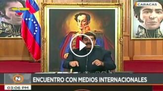 Vés a: VÍDEO Maduro, a Évole: «Vigila Jordi, a Espanya empresonen els Jordis»