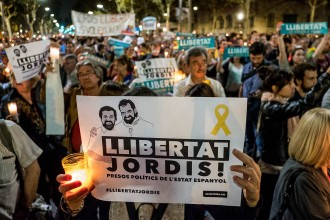 Vés a: Jordi Sànchez denuncia represàlies a la presó després d'entrar en campanya