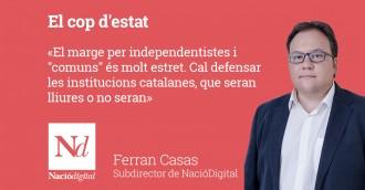 Vés a: LA VEU DE NACIÓ «El cop d'estat», per Ferran Casas