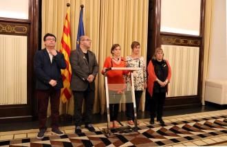 Vés a: Forcadell acusa Rajoy de cometre un «cop d'estat» i avisa que defensarà la sobirania del Parlament