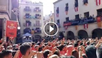 Vés a: VÍDEO Un emotiu cant dels Segadors enceta la diada castellera de Santa Úrsula de Valls