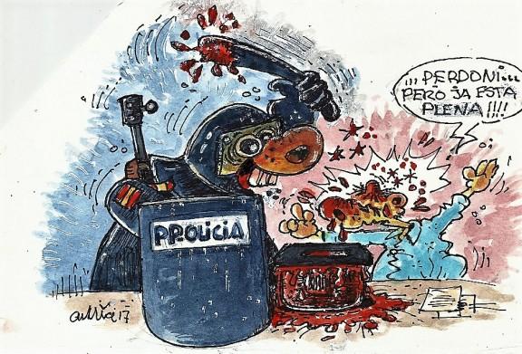 ...repressió salvatge!!!