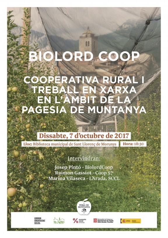 Biolord crea una cooperativa rural per agrupar productors i serveis entorn de la poma de muntanya