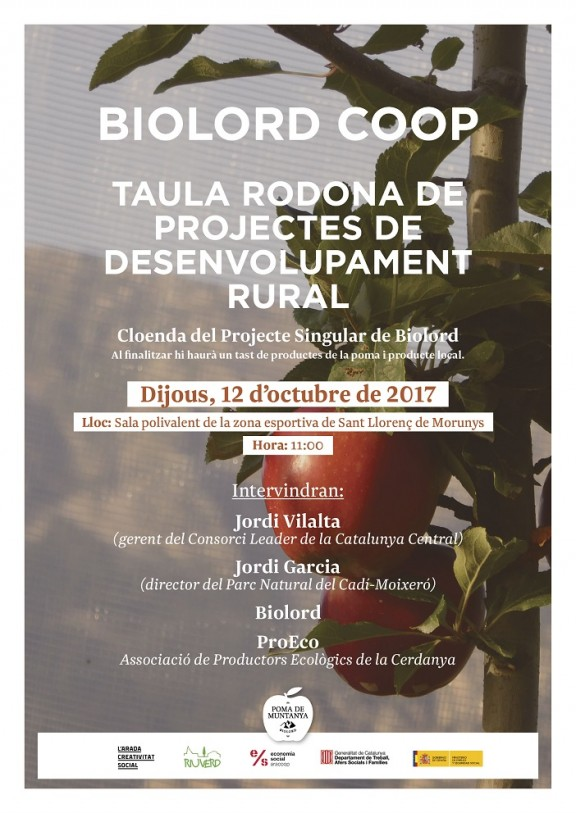 Organitzen una taula rodona de projectes de desenvolupament rural a Sant Llorenç de Morunys