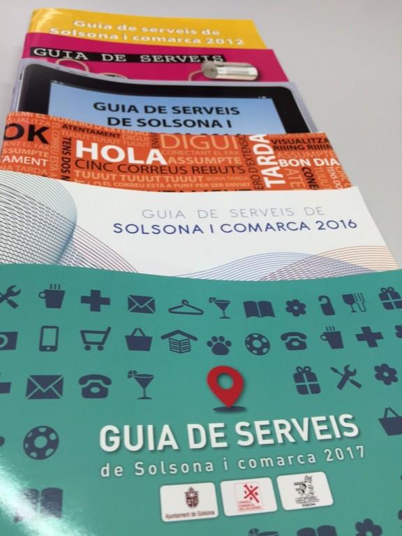S'obre el concurs per escollir el disseny de la portada de la «Guia de serveis de Solsona i comarca» del 2018