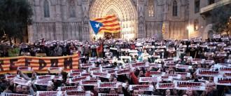 Vés a: Nou concert amb 10.000 cantaires «en defensa del Govern legítim» a Barcelona
