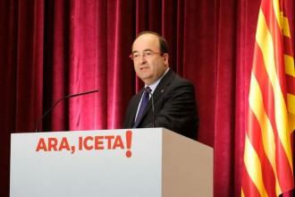 Vés a: Les dues «línies vermelles» d'Iceta durant la campanya electoral: ni ballar ni cridar