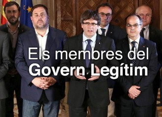 Vés a: El «Govern legítim» ja té pàgina web