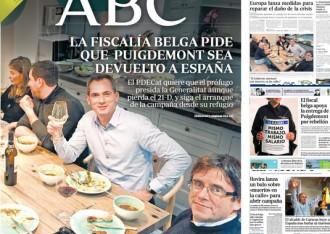 Vés a: PORTADES La premsa espanyola surt en tromba contra Marta Rovira