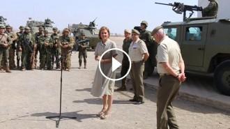 Vés a: VÍDEO El dia que Cospedal va advertir que l'exèrcit estava preparat per «protegir la sobirania nacional»