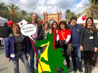 Vés a: Unes 9.000 persones reclamen a Barcelona més presència del català en els jocs i les joguines