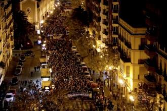 Vés a: Massiva manifestació a València per aconseguir un finançament just
