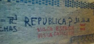 Vés a: Apareixen pintades contra l'independentisme a Balaguer i a Santa Coloma de Farners