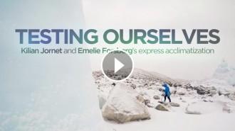 Vés a: VÍDEO Kilian Jornet i Emelie Forsberg presenten «Testing Ourselves»