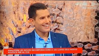 Vés a: Martín Blanco torna a TV3 després de titllar-la de «circ de l'odi cap a Espanya»