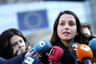 Vés a: Arrimadas afirma que si governa Catalunya «deixarà de ser un problema per a la UE»